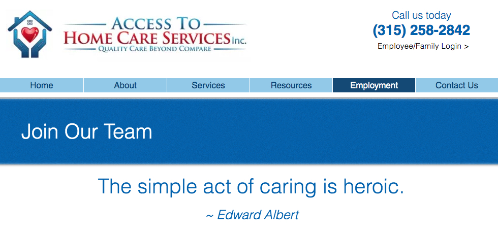 Access To Home Care Services, Inc.